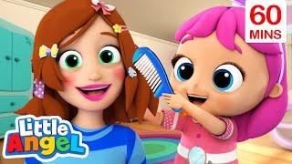 Beauty Salon Song | Mommy Is My Hero + More Little Angel Kids Songs & Nursery Rhymes