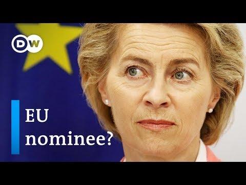 Who is EU Commission President nominee Ursula von der Leyen? | DW News