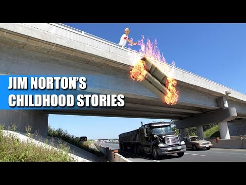 Jim Norton Funny Childhood Stories (Couch on Fire, Hey Stanley, Stinking up Private Jet, Hot Oil)