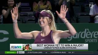 Tennis Channel Live: Who Is The Best Female Player Yet To Win A Major? screenshot 5