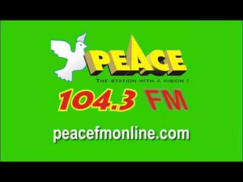 PEACE 104 3 FM Kaseibo, 6:00AM (24 - March - 2017)
