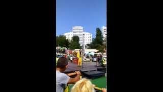 Маски - шоу в Ильичевске на день цветов 5,09,2015