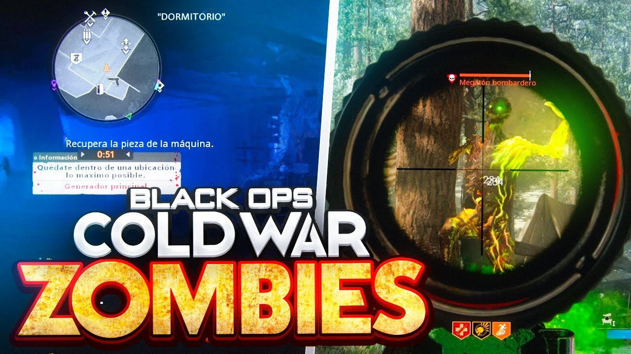 GAMEPLAY DE ZOMBIES EN CALL OF DUTY BLACK OPS COLD WAR