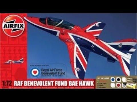 Airfix RAF Benevolent Fund Hawk 1/72