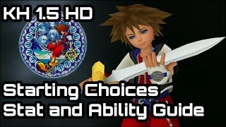 Video Kingdom Hearts 1.5 PS4 - Starting Choices. Stat, Ability and Level choice guide. Final Mix PS4 download MP3, 3GP, MP4, WEBM, AVI, FLV Juli 2018
