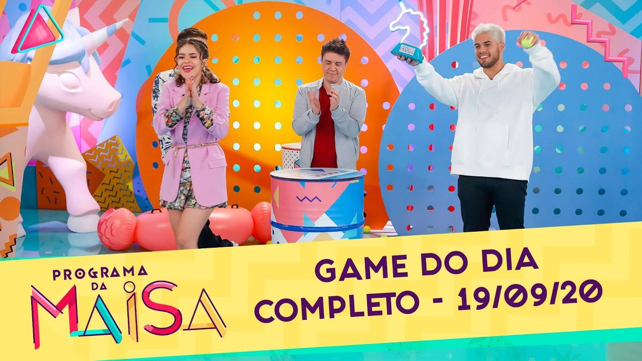 Game do Dia | Programa da Maisa (19/09/20)