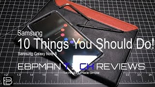 Samsung Note 8: First 10 things you should do!