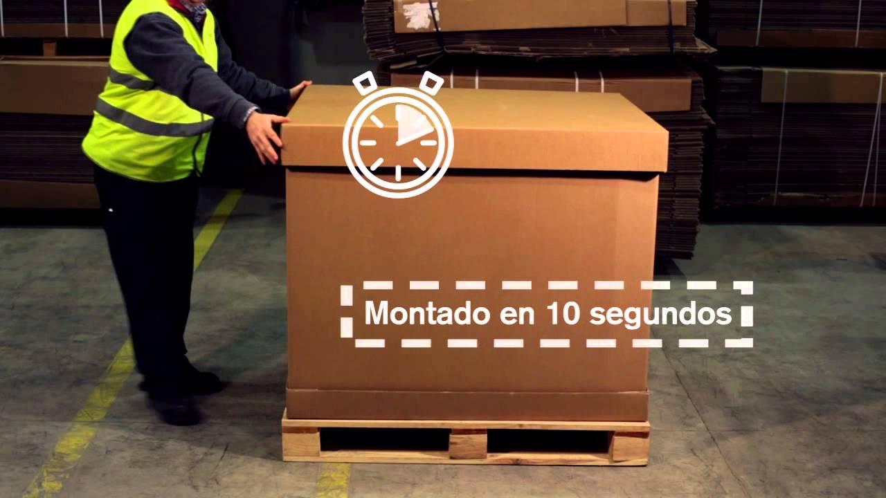 Embalaje De Tecnicarton Cartón Plegable Exportación Para thdQsr