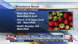 Strawberry Recall Impacting Locals