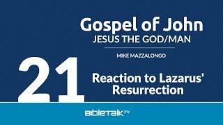 Reaction to Lazarus