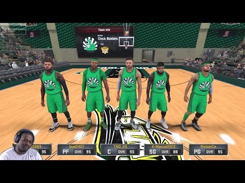 NBA 2K17 Pro-AM with Friends - My Athletic Finisher Center - Team Clock Busters
