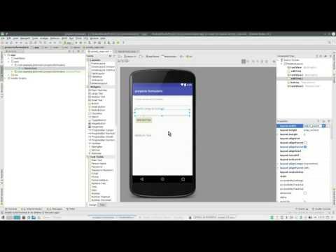 videotutorial formulario android studio
