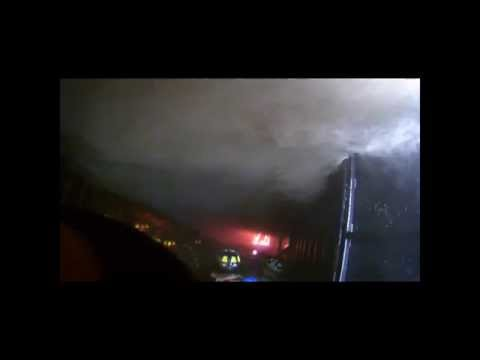 Draeger Live Fire Training - Flash Over Simulator - Washington County Fire Academy - 10/25/2014