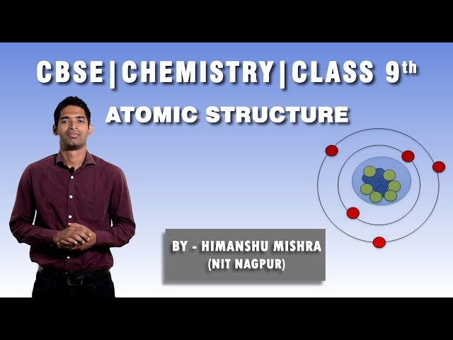 Atomic Structure - Q5 - CBSE 9th Chemistry (Science)