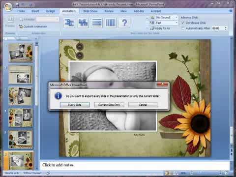 PowerPoint Presentation Tutorial Digital Scrapbooking On Steroids Simple Fast