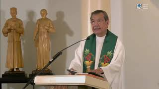 10:00 AM  Sunday Mass with Fr Jerry Orbos SVD - September 20, 2020  25th Week in Ordinary Time