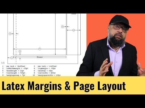 LaTeX Margins and Page Layout Parameters - YouTube