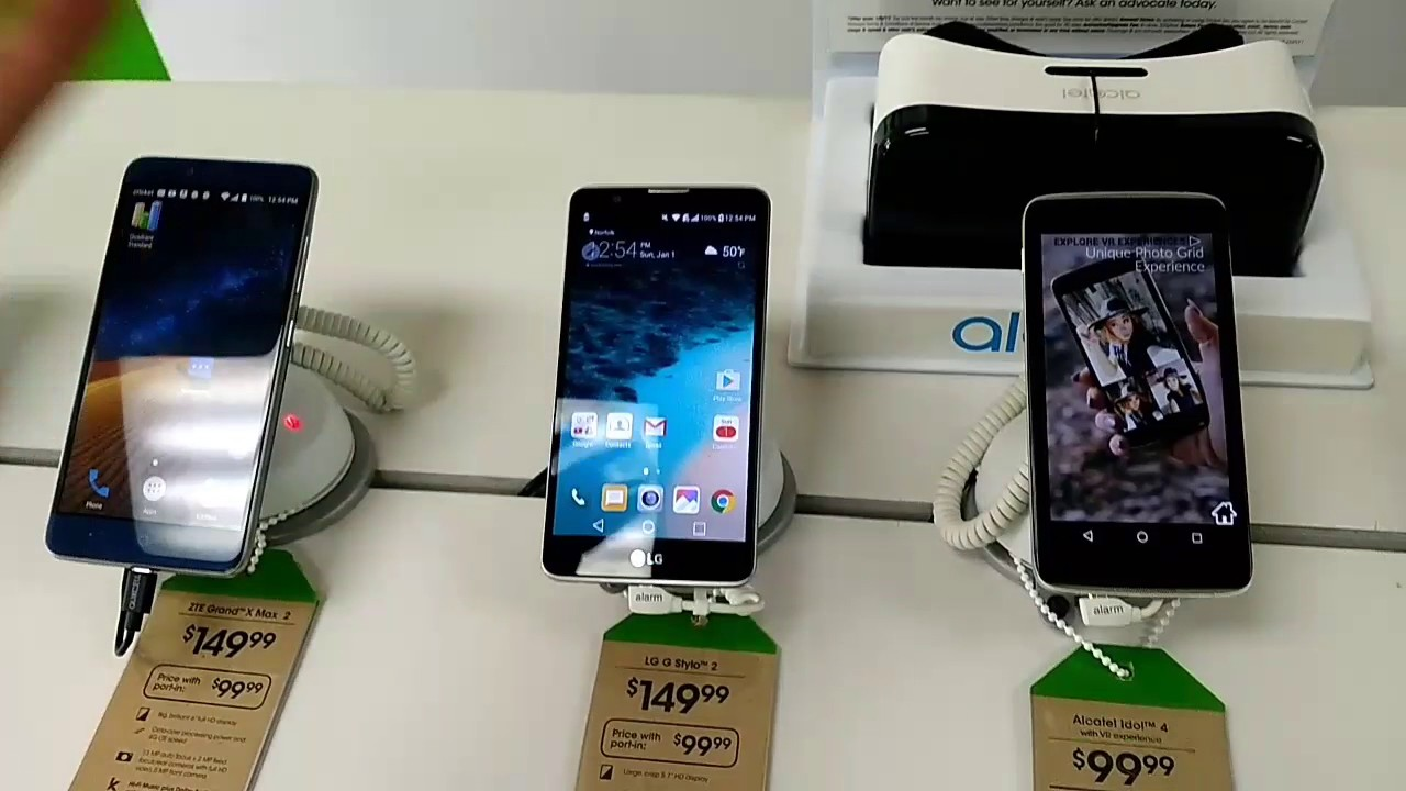C cricket phones for sale existing customers - Cricket Wireless Deals 2017 Zte Grand X Max 2 Lg Stylo 2 Alcatel Idol 4 Alcatel Idol 3 Ends 1 5 Youtube