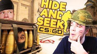 NAJLEPSZE KRYJÓWKI NA MAPIE MIRAGE! | CS:GO - HIDE AND SEEK [#2] (With: EKIPA)