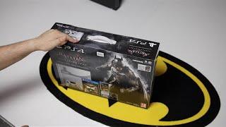 فتح علبة وإستعراض جهاز PS4 Batman Arkham Knight Edition