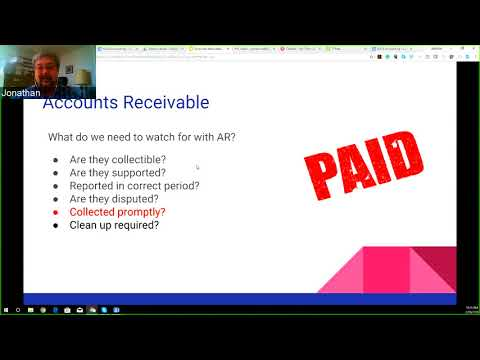 Enhancing the Accountant / Bookkeeper Connection - Accounts Receivables