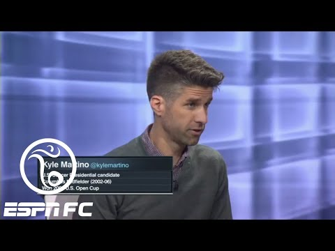 Kyle Martino makes his case for U.S. Soccer president  ESPN FC