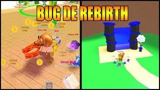BUG DE REBIRTH NO MAGNET SIMULATOR !! -ROBLOX-