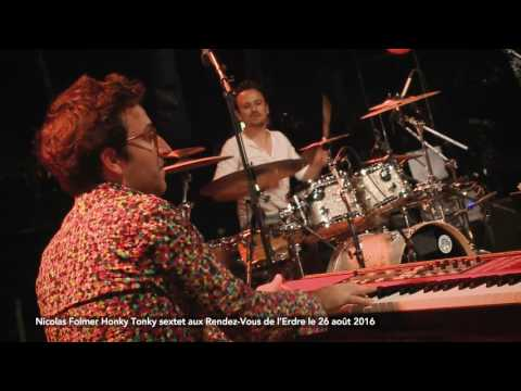 Concert de Nicolas Folmer Horny Tonky sextet aux Rendez-Vous de l'Erdre, le 26 août 2016