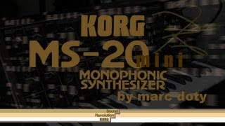 The Korg MS-20 Mini- Part 8 Sample and Hold