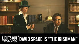 "David Spade Could Have Been ""The Irishman"" (feat. Ray Romano) - Lights Out with David Spade"