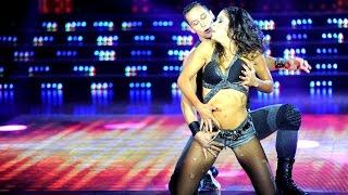 Celeste Muriega calentó la noche con un reggaetón