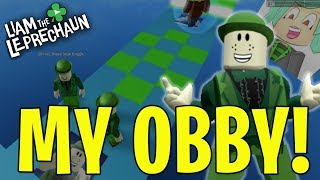 Liam the Leprechaun Roblox Obby! 🍀