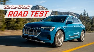 The 2019 Audi e-tron is a Competitive All-Electric SUV | MotorWeek Road Test thumbnail