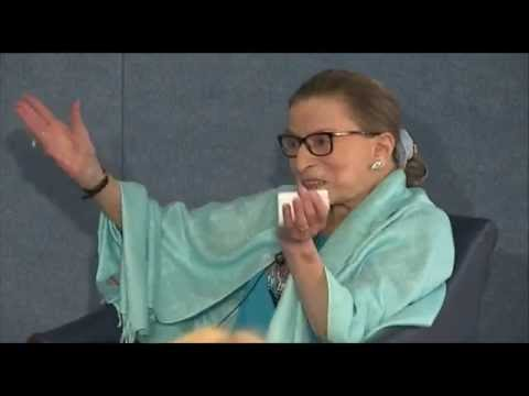 Supreme Court Justice Ruth Bader Ginsburg discusses the 2013-14 term