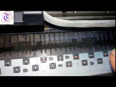 how to slove paper jam problem canon pixma G1000 printer