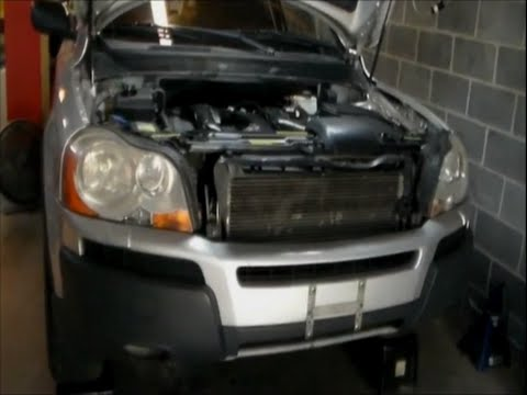 2004 Volvo Xc90 Engine Removal