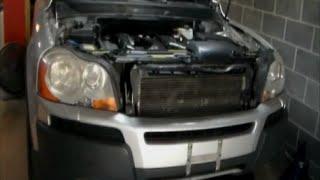 2004 Volvo XC90 Engine Removal