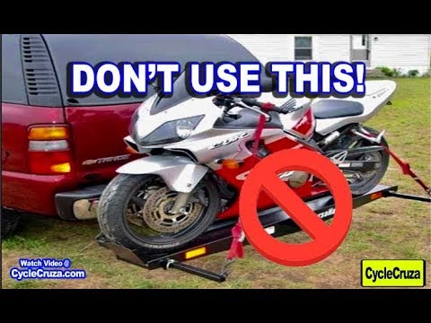 Reasons To Never Use A Motorcycle Hitch Carrier Youtube