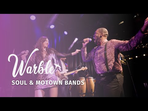 Soul and Motown Bands for Hire in the UK from Warble Entertainment Agency