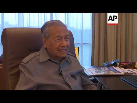 Malaysia's Mahathir: opposition can win election