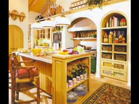 Spanish style decorating ideas - YouTube
