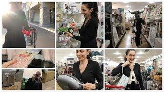 Коллективно Едем Покупать Розовую Соль  - Шопинг в Магазине Home Goods - Семейный Влог - Эгине