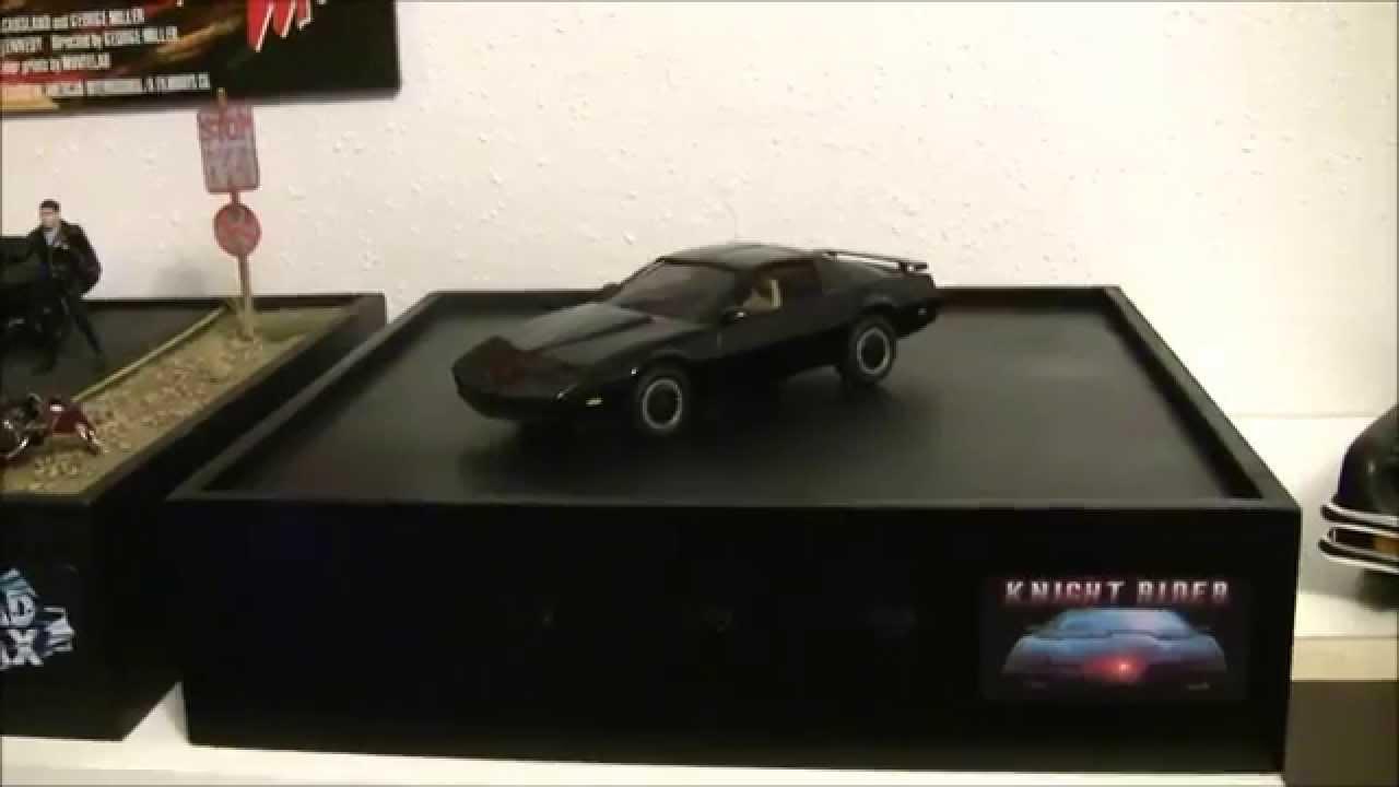 Knight Rider  K.I.T.T.  Scale Model With LED Lighting u0026 Sound FX & Knight Rider
