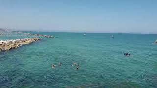 Prima domenica di agosto sulla spiaggia a Termoli