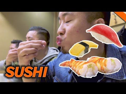 EATING THE BEST SUSHI IN TOKYO, JAPAN 2017 World Tour | Fung Bros