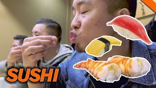 EATING THE BEST SUSHI IN TOKYO, JAPAN // Fung Bros 2017 World Tour Mp3