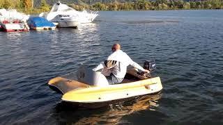 Micro bateau catamaran pour attractions foraines