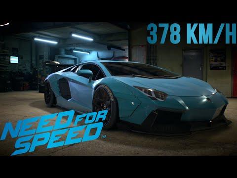Need For Speed - Lamborghini Aventador !! [ 378km/h ]