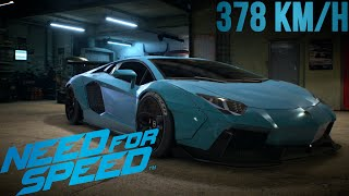 Need For Speed - Lamborghini Aventador !! [ 378km/h ]