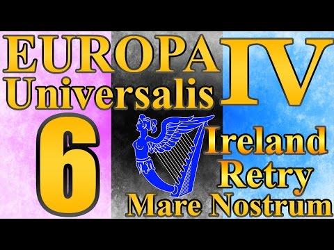 "Europa Universalis 4 Ireland ""First Colony!!"" EP:6 [Mare Nostrum]"